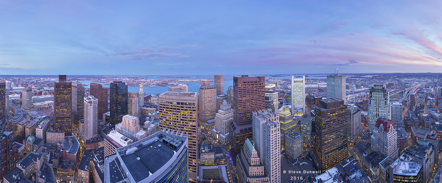pano from Millenium Place, Boston, MA